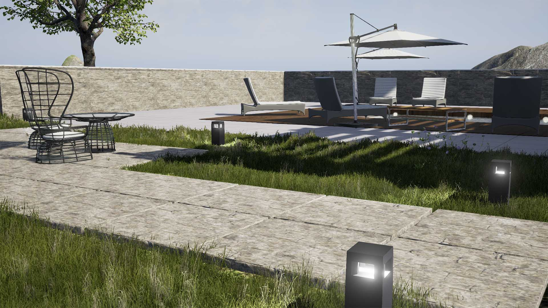 Real Time 3D Rendering external Architectural Visualisation n4