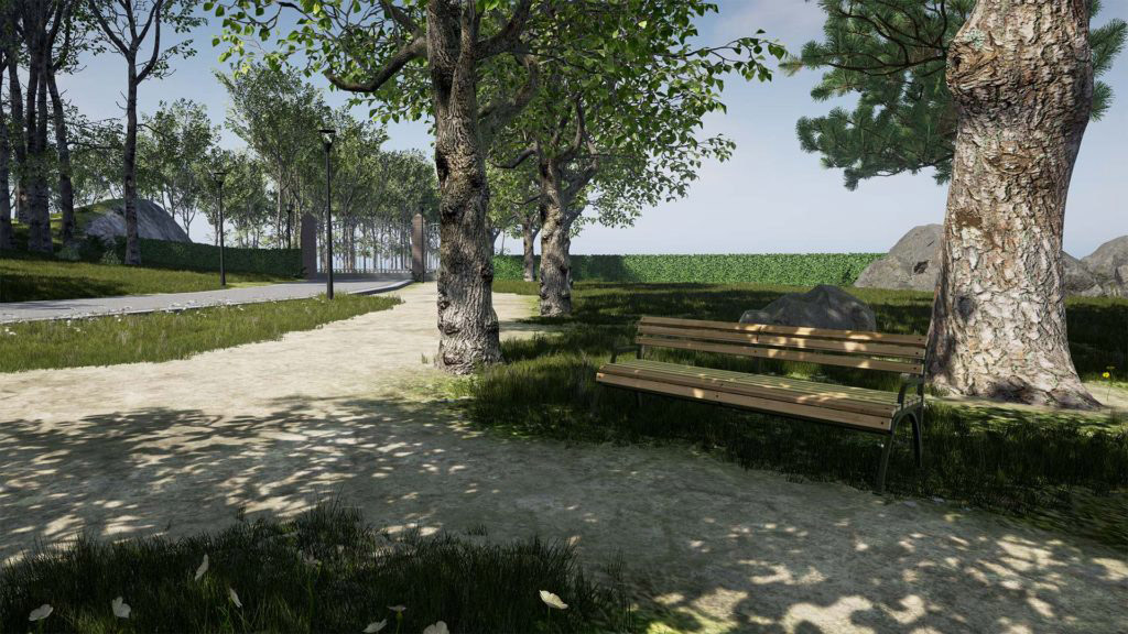 Real Time 3D Rendering external Architectural Visualisation in Unreal Engine 4