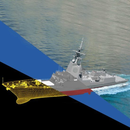 3D Rendering Addfor Naval Model - 3d modelling, texturing and rendering phases
